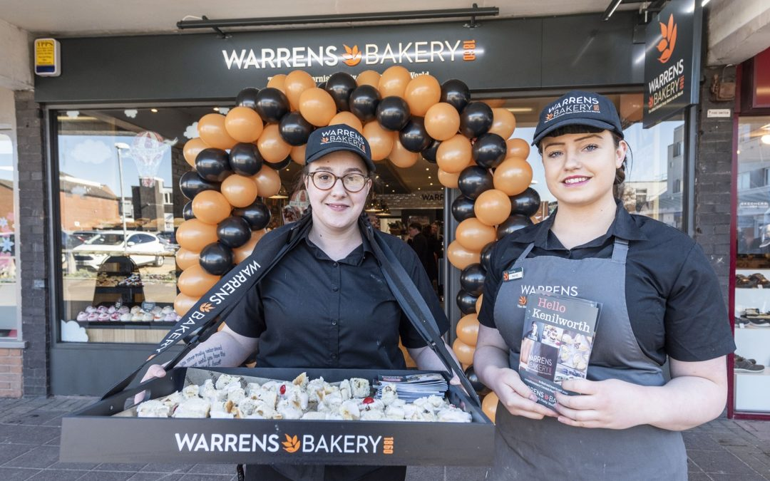 Kenilworth welcomes award-winning British bakery to town