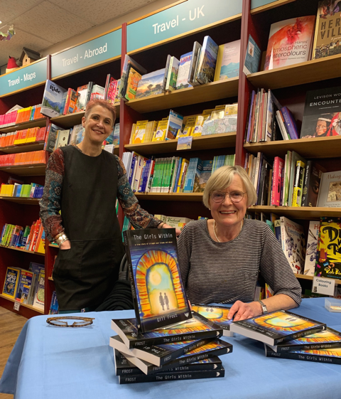 Psychotherapist launches debut book at Kenilworth Books