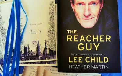 Coventry painted in ink for Lee Child